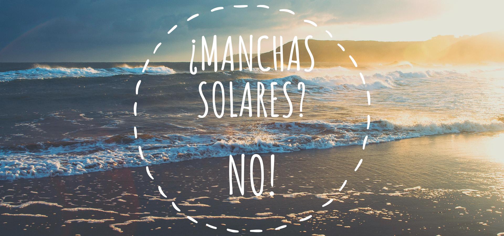 Eliminar las manchas solares