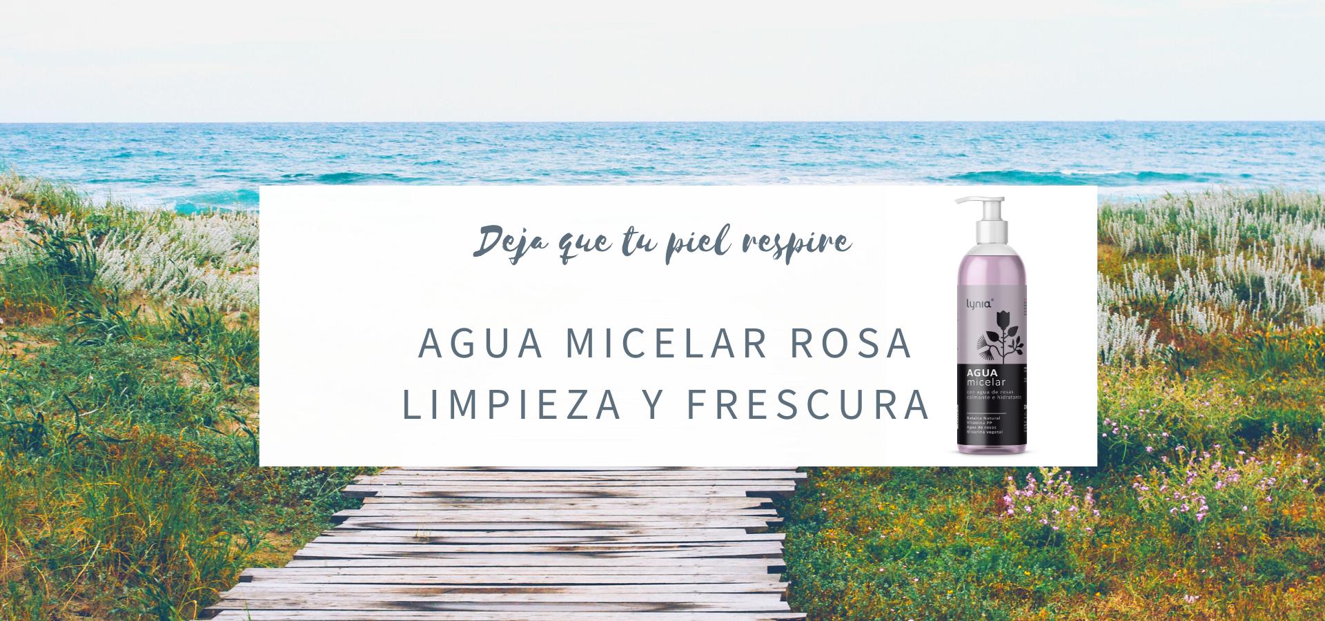 Agua Micelar Rosa